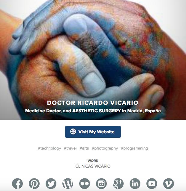 Doctor Ricardo Vicario About me
